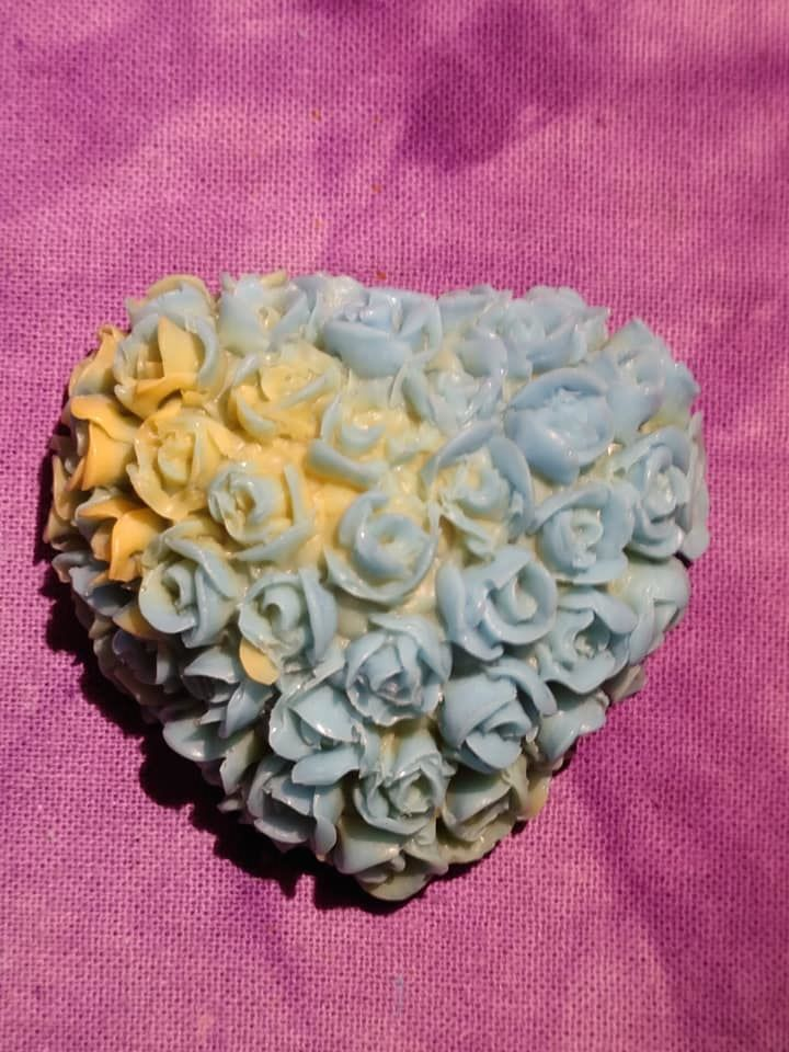 NC - Rose Heart Soap