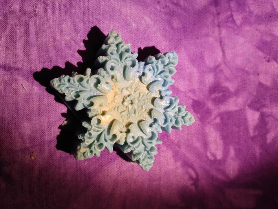 NC - Snowflake Soap