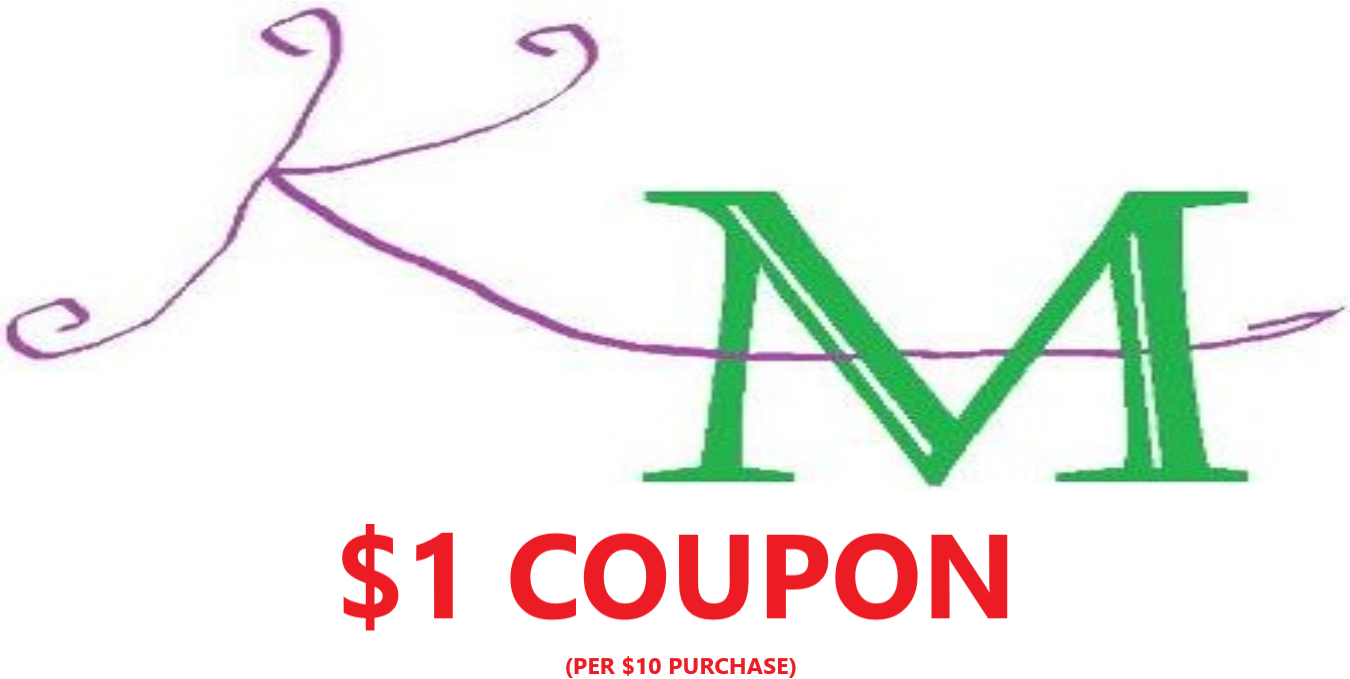 APRIL FLING = $1 Off Coupon (min $10 soap purchase)