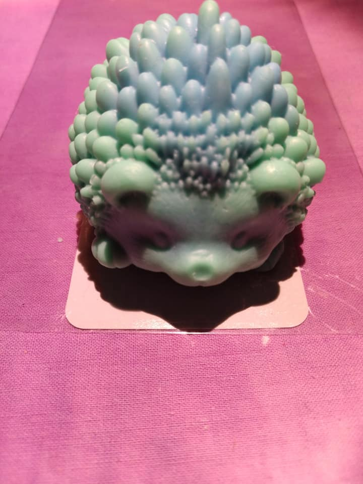 AC - 3D  Hedgehog Soap