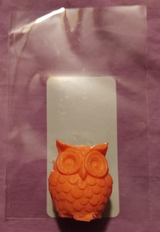 AC - 3D  Owl Soap
