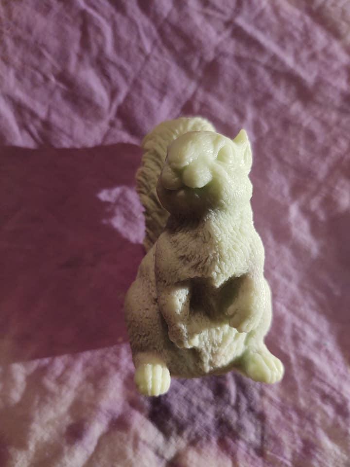 AC - 3D Squirrel Soap